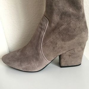 8e16181fab0 Goodnight Macaroon Shoes - Goodnight Macaroon Carina OTN Suede Boots